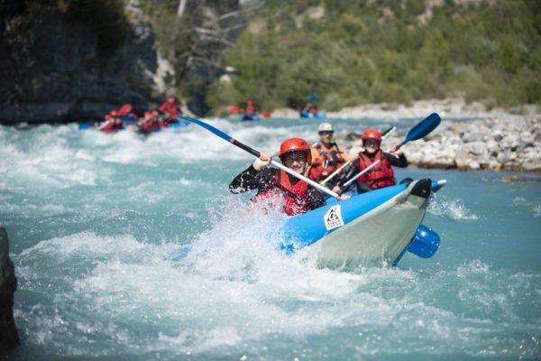 Serre-Poncon Rafting